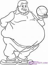 Fat Coloring Pages Printable Albert Boy Getcolorings sketch template
