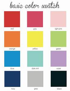 list of basic colors - 28 images - list primary colors