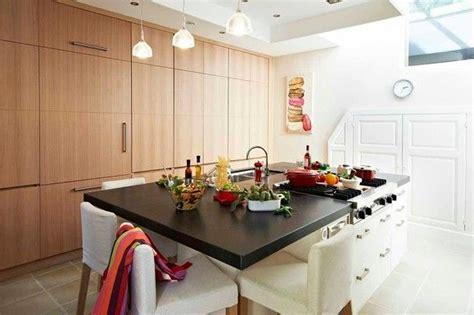 cuisine contemporaine avec ilot central cuisine moderne ilot central table maison moderne