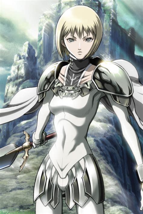 Anime Swordsman Wallpaper - claymore clare 640x960 5