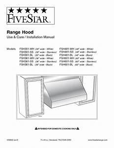 Fsh361-ss Manuals