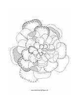Picker Cherry Flower Coloring sketch template