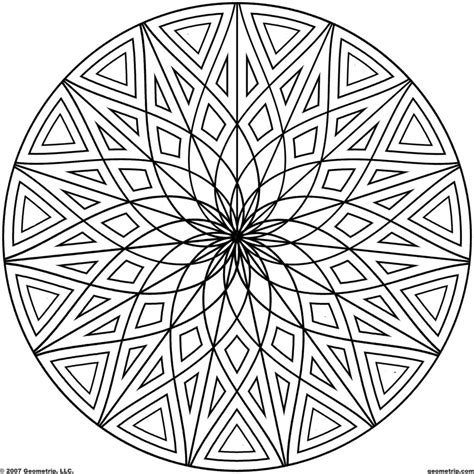 geometric designs to color coloring pages cool coloring pages to print cool