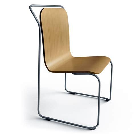 chaise chene objets bim et cao chaise ds no 4 pietement acier