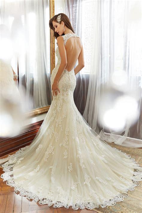 backless wedding dress lace backless wedding dresses bespoke brides chester