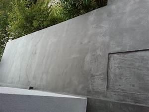 terrasse exterieur en beton cire With beton cire pour terrasse