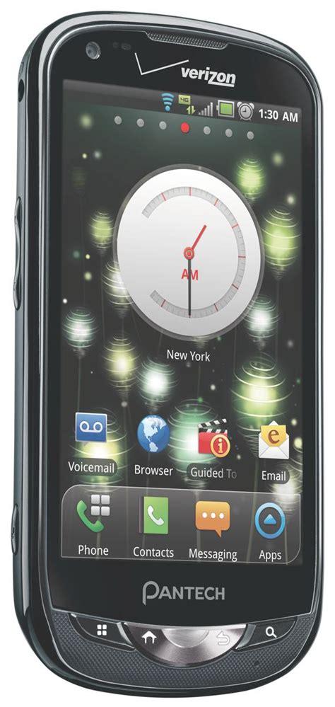 verizon wireless smartphones pantech breakout 4g lte android smartphone