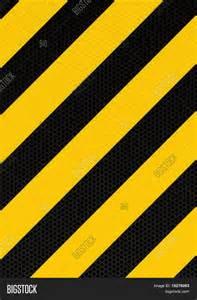 Black and Yellow Diagonal Stripes