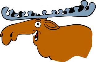 Cartoon Moose Clip Art