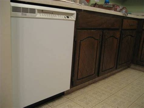 removing kitchen cabinets for dishwasher how to cut into cabinets for dishwasher installation in