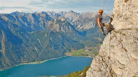 Klettern  Achensee  Aktiv Im Sommer
