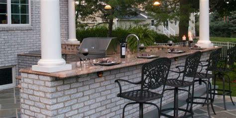 outdoor kitchen costs landscape design blog borst landscape