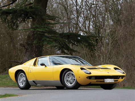 Here's A Big Fat Happy Birthday To The Lamborghini Miura