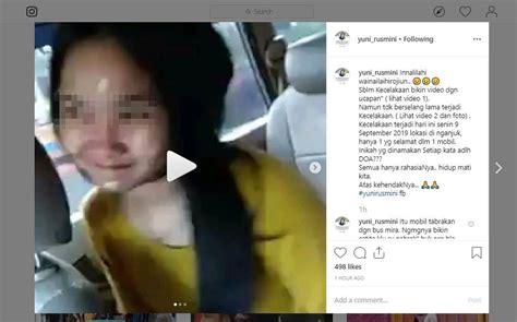 beredar video diduga korban kecelakaan nganjuk omongannya
