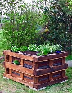 Kruter In Ein Hochbeet Pflanzen Cucina Verde
