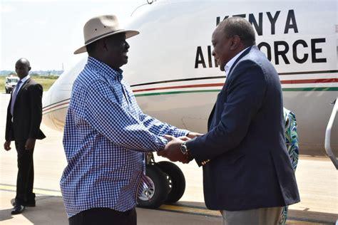Kisumu is served by kisumu airport, with regular daily flights to nairobi and elsewhere. Uhuru touches down in Kisumu - Business Today Kenya