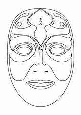 Printable Mask Masks Template Mardi Coloriage Gras Face Hugolescargot Croquis Masque sketch template