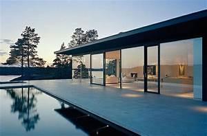 Glas Balkongeländer Rahmenlos : wabdgestaltung ideen und moderne fassaden aus rahmenlosem glas ~ Frokenaadalensverden.com Haus und Dekorationen