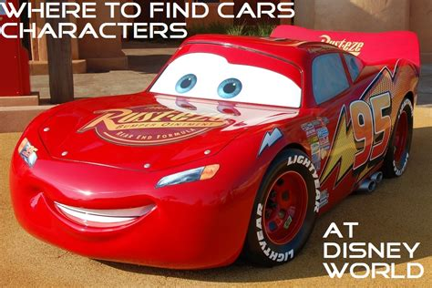 Cars Lightning Mcqueen And Tow Mater At Walt Disney World