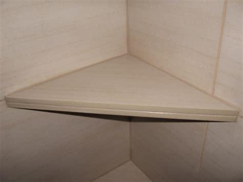 51 Tile Corner Shelf, Porcelain Tile Floor 9hammers