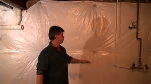 basement wrap basement concrete wall insulation wrap