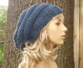 Free Slouch Hat Knitting Pattern