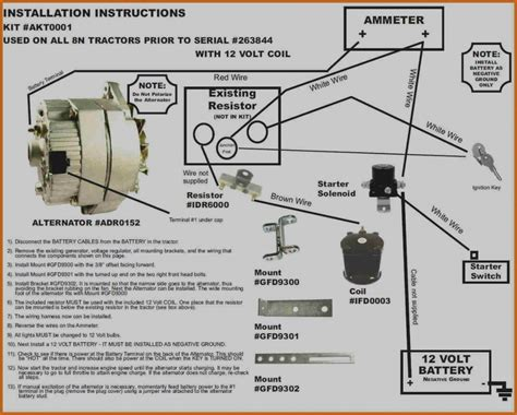 Ford 8n Coil Wiring by 12 Volt Ignition Coil Wiring Diagram For Ford Repair