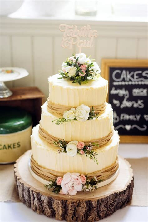 wedding cake decorating ideas for rustic weddings ideal me