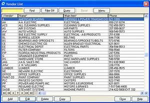 COGZ CMMS Software Vendor List
