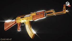 Gold Guns Wallpaper Ak 47 (72+ images)