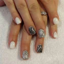 Creative black and white nail art examples incredible