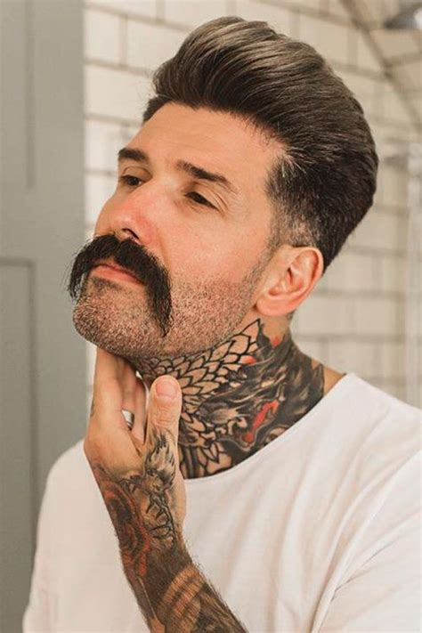 discover   iconic mustache styles  men