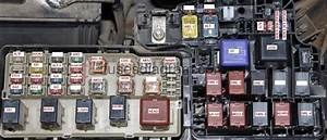 Fuse Box Toyota Camry 2001