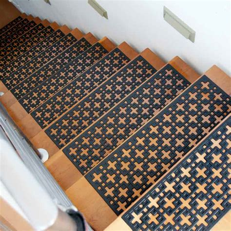 stars rubber stair treads