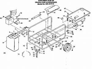 Craftsman Model 580327010 Generator Genuine Parts