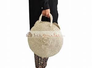 Sac En Paille Original : panier paille rond sac couffin naturel ~ Melissatoandfro.com Idées de Décoration