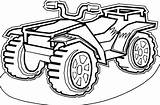 Wheeler Coloring Four Atv Colouring Dessin Coloriage Quad Enregistree Starklx Depuis Coloriages sketch template