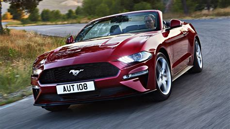 news  ford mustang ecoboost arrives updated