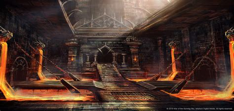 dungon siege dungeon concept 01 by bpsola on deviantart