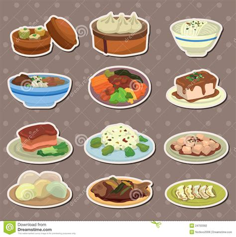 cuisine stickers food stickers stock photography image