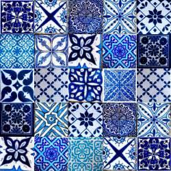 marrakesh moroccan tiles blue tiles タイル