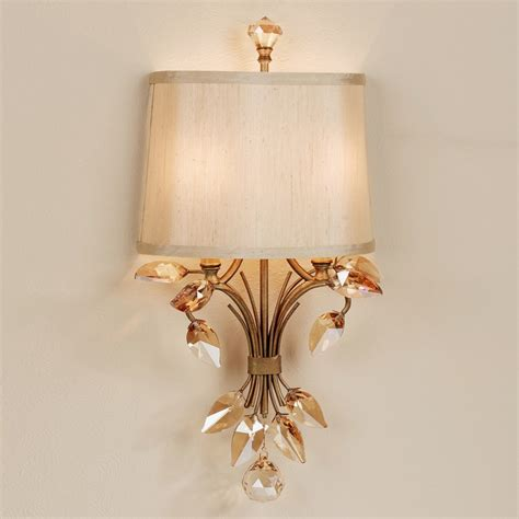 outstanding crystal wall sconces ideas crystal vanity