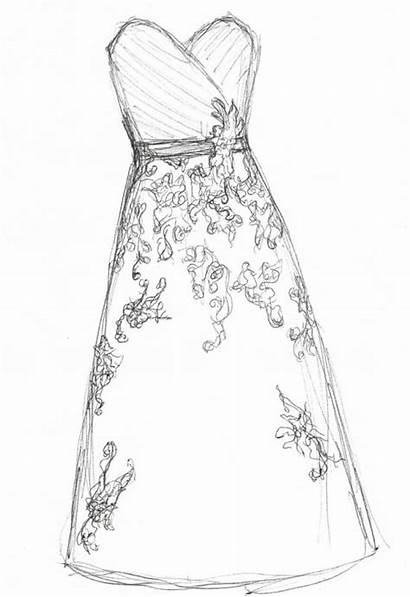 Drawing Drawings Dresses Skirt Gown Customize Heavy