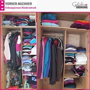 Ordnung Im Kleiderschrank : vorher nachher bilder vom kleider aussortieren ~ Frokenaadalensverden.com Haus und Dekorationen