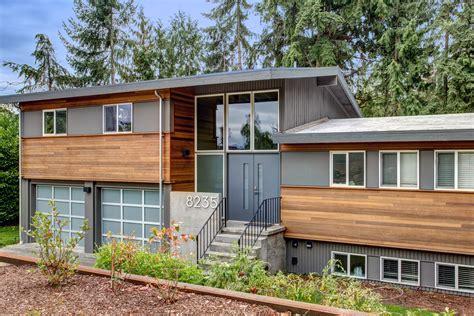 split entry home plans split level exterior makeover the modern split board