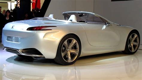 Peugeot Sr1 by Peugeot Sr1 Concept Car