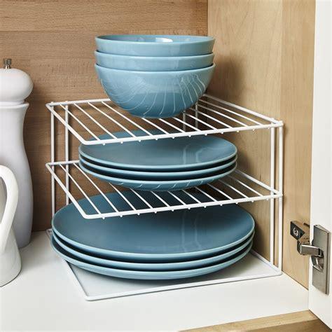 belfry kitchen macy  tier kitchen cupboard plate organiser dish rack reviews wayfaircouk
