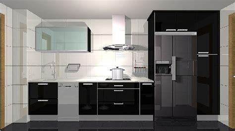 Gabinetes De Cocina En Pvc by Decorar La Cocina De Color Negro