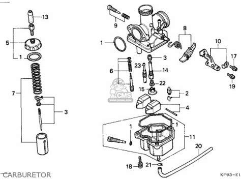 honda xl185s 1987 h canada parts list partsmanual partsfiche