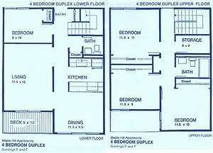 4 bedroom apartments ithaca east apartments for Design of a four bedroom plan